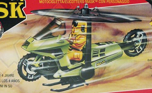 Kenner M.A.S.K. Condor differences boxes 1