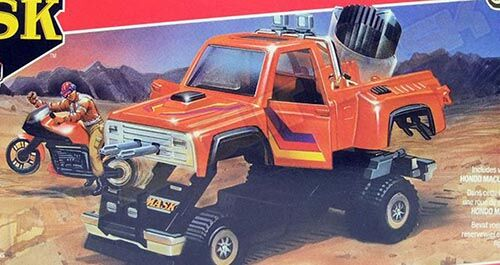Kenner M.A.S.K. Firecracker differences boxes 1