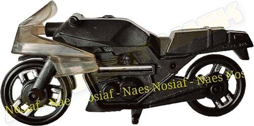 Kenner M.A.S.K. Firecracker Black bike. Auriken Mexico exclusive. Included in the Firecracker Playset.