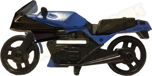 Kenner M.A.S.K. Firecracker Blue bike. PlayFul Argentina exclusive. Included in an action pack.