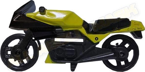 Kenner M.A.S.K. Firecracker Yellow bike. PlayFul Argentina exclusive. Included in an action pack.