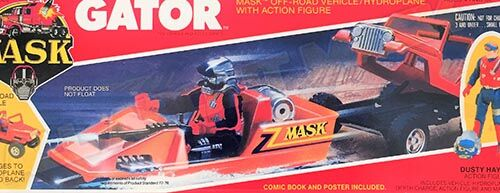 Kenner M.A.S.K. Gator differences boxes 1