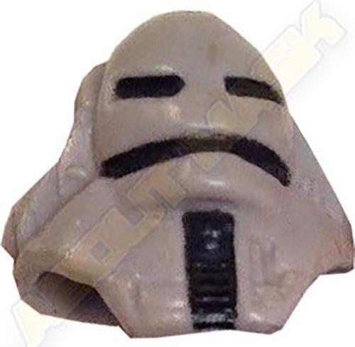 Kenner M.A.S.K. Jackhammer Torch Mask short version light gray
