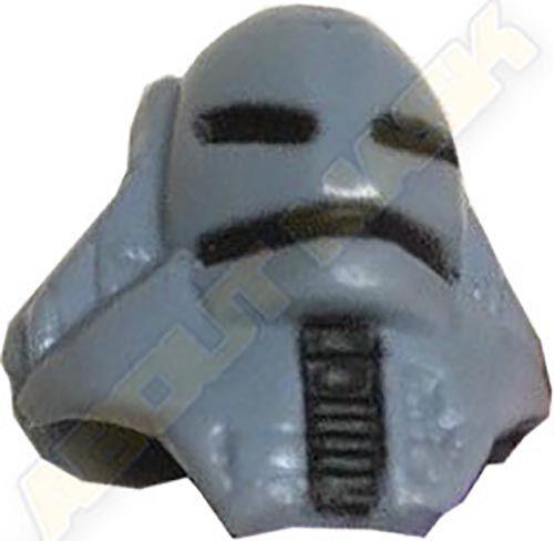 Kenner M.A.S.K. Jackhammer Torch Mask short version dark gray