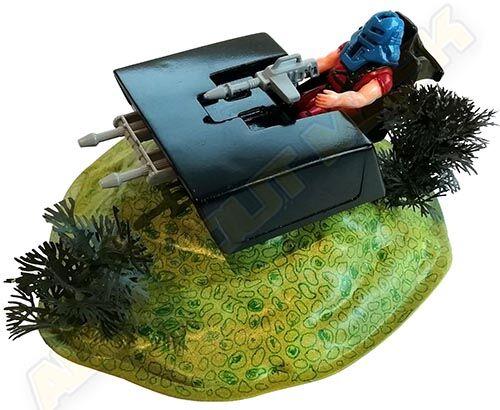 Kenner M.A.S.K. Jackhammer PlayFul argentine, licensed product. Gun Turret Playset