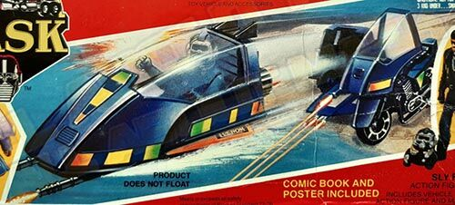 Kenner M.A.S.K. Piranha differences boxes 1