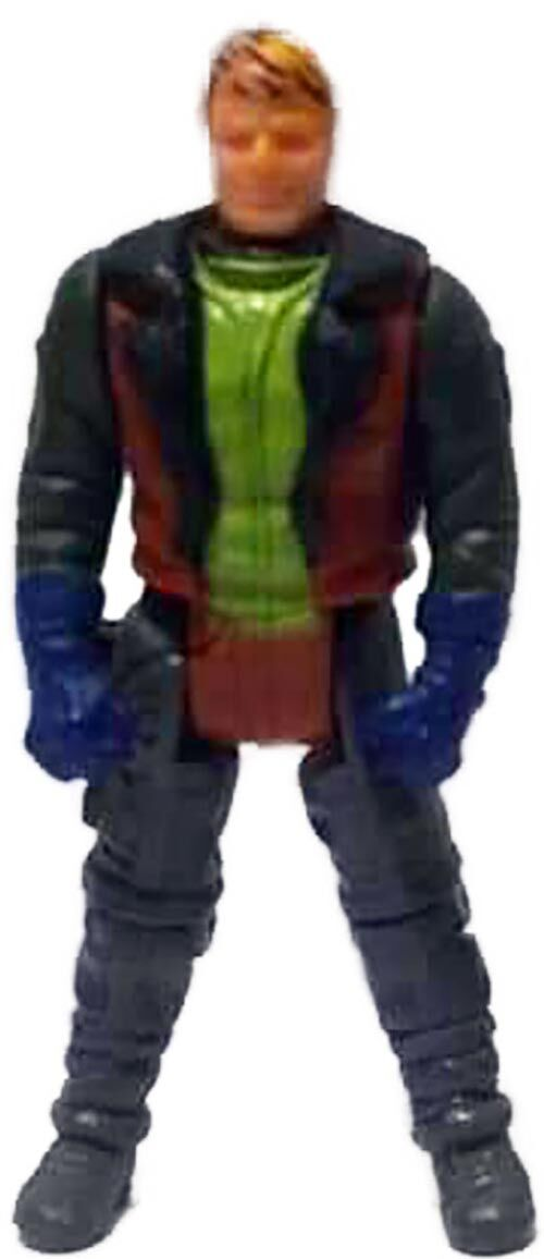 Kenner M.A.S.K. Thunderhawk PlayFul argentine, licensed product. Body from Ace Riker in brown/black