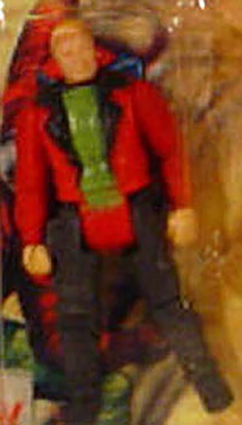 Kenner M.A.S.K. Thunderhawk PlayFul argentine, licensed product. Body from Ace Riker in red/black