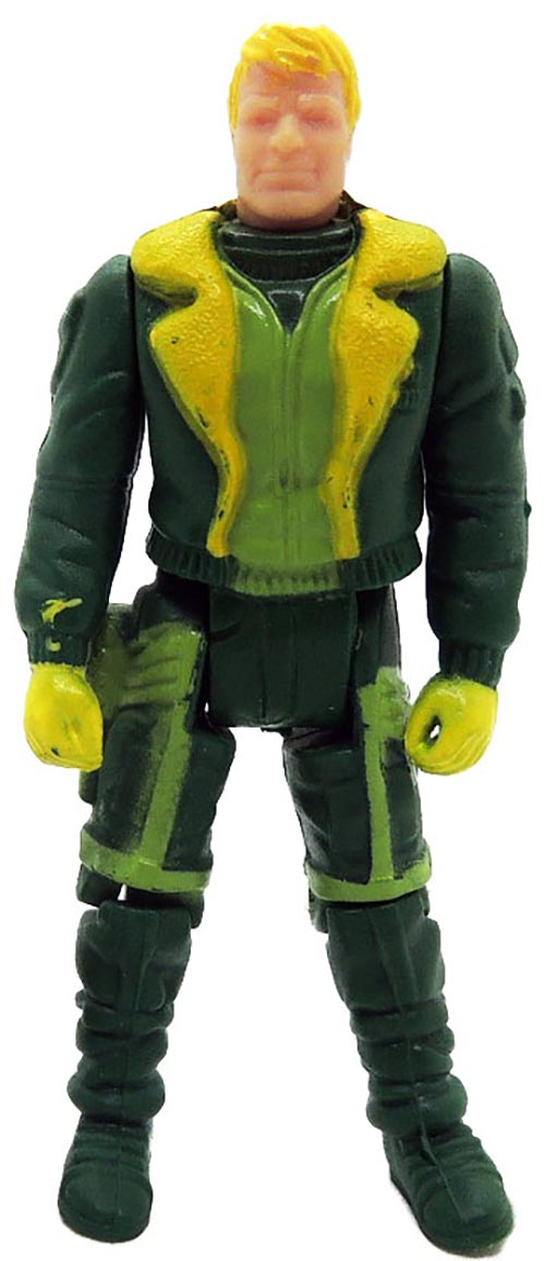 Kenner M.A.S.K. Thunderhawk PlayFul argentine, licensed product. Body from Ace Riker in green/yellow