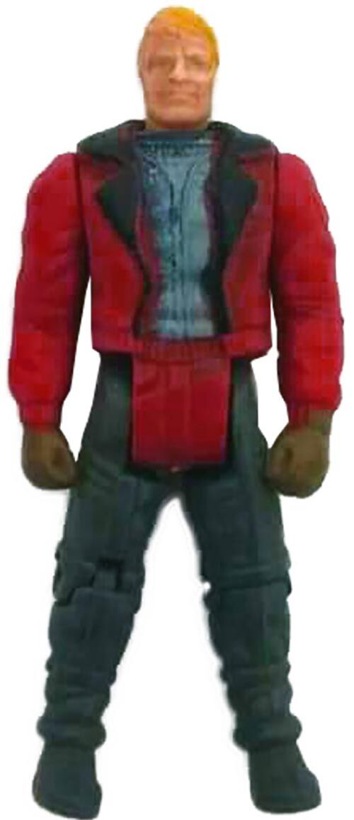 Kenner M.A.S.K. Thunderhawk PlayFul argentine, licensed product. Body from Ace Riker in red/black/gray