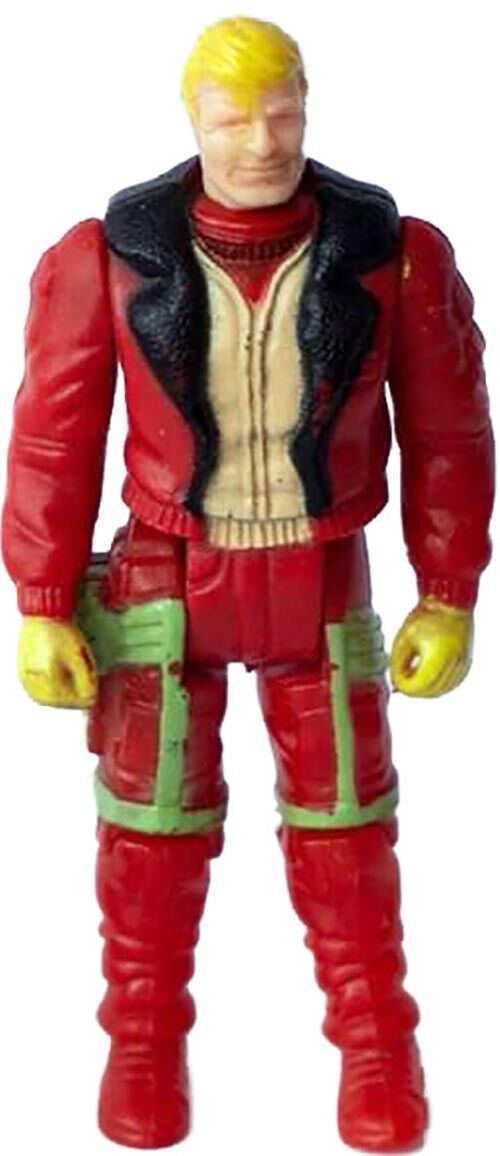 Kenner M.A.S.K. Thunderhawk PlayFul argentine, licensed product. Body from Ace Riker in red/beige
