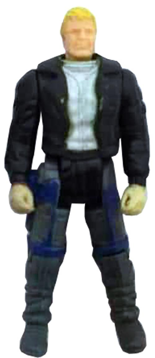 Kenner M.A.S.K. Thunderhawk PlayFul argentine, licensed product. Body from Ace Riker in black/gray/white