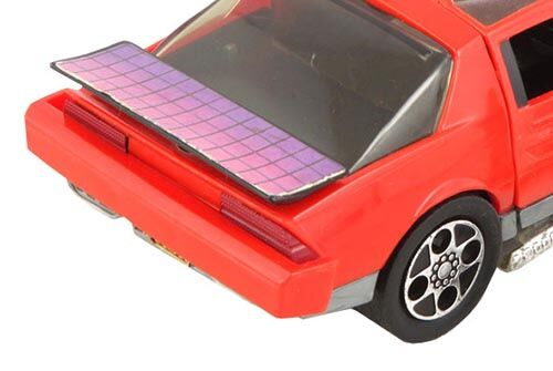 Kenner M.A.S.K. Thunderhawk Red tail lights