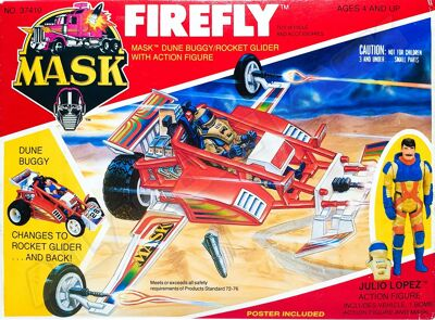 Kenner M.A.S.K. Firefly US Box