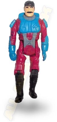 Kenner M.A.S.K. Firefly 1st Series European exclusive Figures Firefly repaint