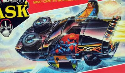 Kenner M.A.S.K. Raven differences boxes 1
