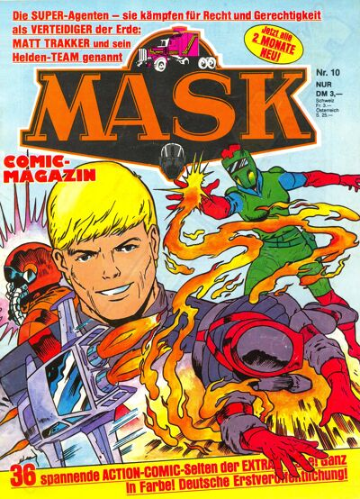 M.A.S.K. M.A.S.K. German comic no. 10
