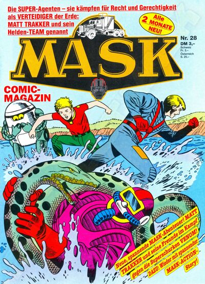 M.A.S.K. M.A.S.K. German comic no. 28