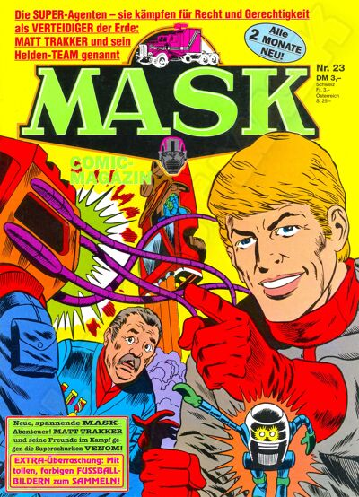M.A.S.K. M.A.S.K. German comic no. 23