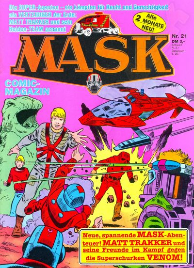 M.A.S.K. M.A.S.K. German comic no. 21