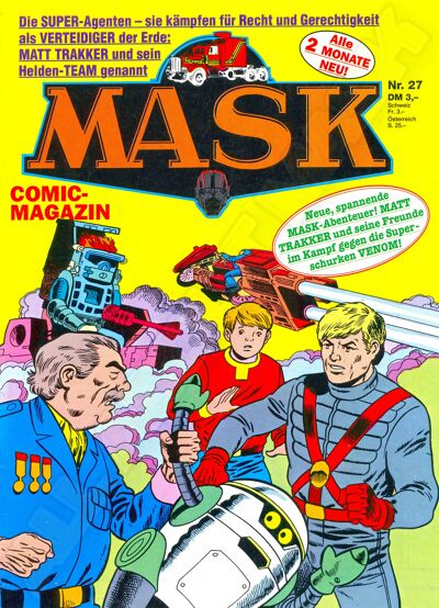 M.A.S.K. M.A.S.K. German comic no. 27