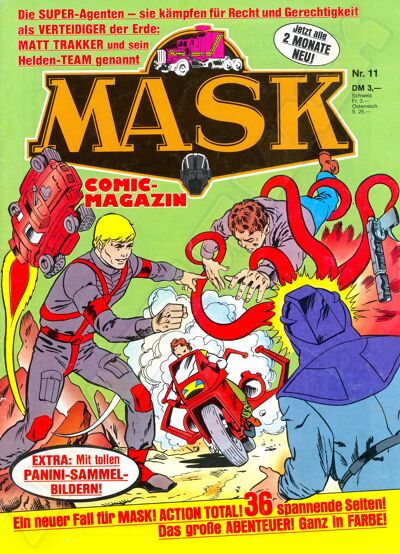 M.A.S.K. M.A.S.K. German comic no. 11