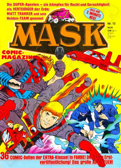 M.A.S.K. M.A.S.K. German comic no. 12