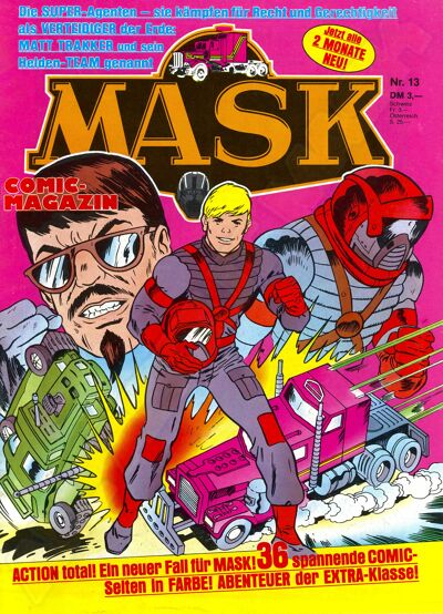 M.A.S.K. M.A.S.K. German comic no. 13