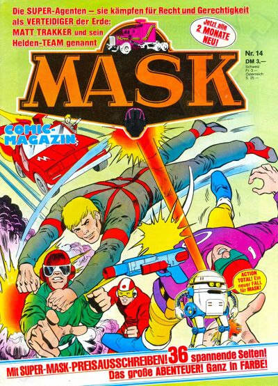 M.A.S.K. M.A.S.K. German comic no. 14