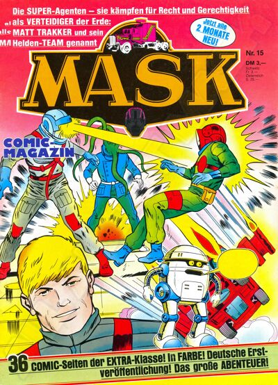 M.A.S.K. M.A.S.K. German comic no. 15