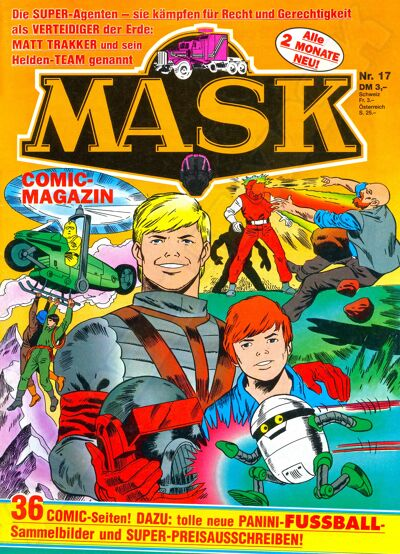 M.A.S.K. M.A.S.K. German comic no. 18