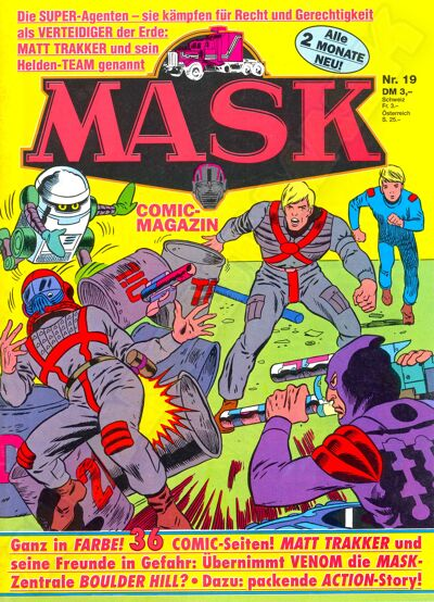 M.A.S.K. M.A.S.K. German comic no. 22