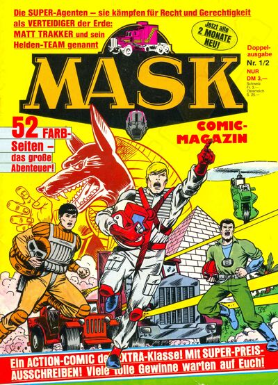 M.A.S.K. M.A.S.K. German comic no. 01/02