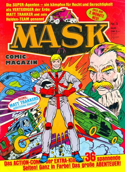 M.A.S.K. M.A.S.K. German comic no. 03