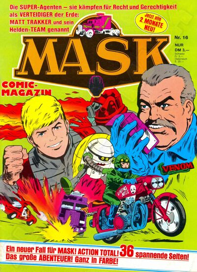 M.A.S.K. M.A.S.K. German comic no. 16
