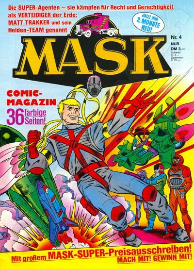M.A.S.K. M.A.S.K. German comic no. 04
