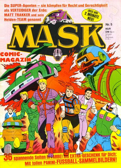 M.A.S.K. M.A.S.K. German comic no. 05