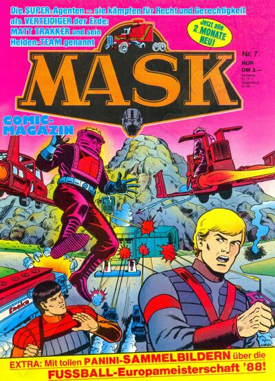 M.A.S.K. M.A.S.K. German comic no. 07