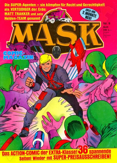 M.A.S.K. M.A.S.K. German comic no. 09