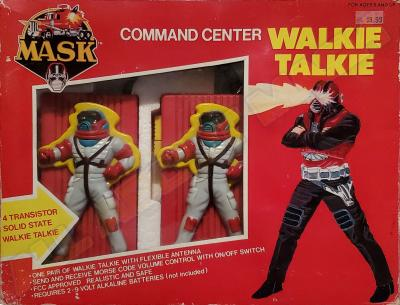M.A.S.K. Command Center Walkie Talkie