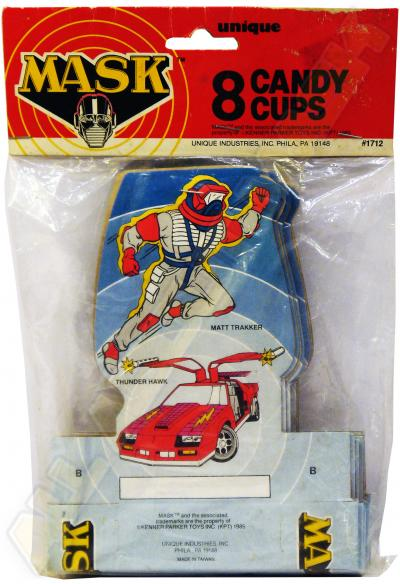 M.A.S.K. M.A.S.K. Candy Cups