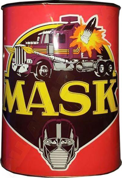 M.A.S.K. MASK Trash can