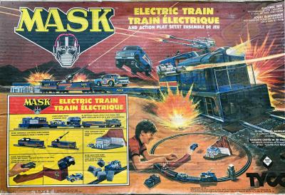 M.A.S.K. M.A.S.K. TYCO electric trainset