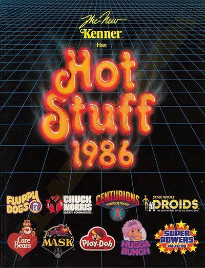 M.A.S.K. Kenner catalog 1986 Hot Stuff