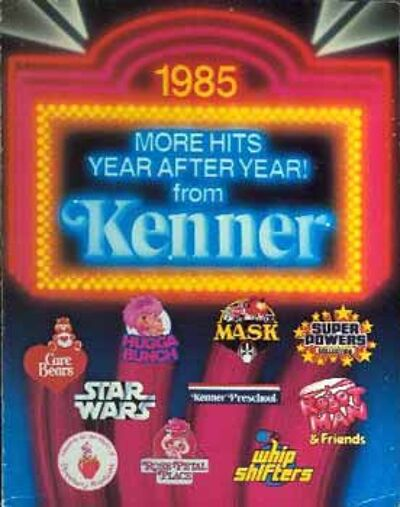M.A.S.K. Kenner catalog 1985 KENNER CONSUMER PROMOTIONS