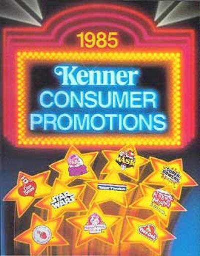 M.A.S.K. Kenner catalog 1985 MORE HITS YEAR AFTER YEAR FROM KENNER