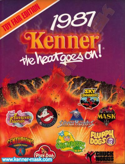 M.A.S.K. Kenner catalog 1987 The heat goes on Toy Fair edition