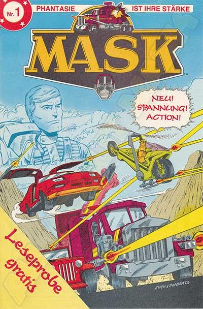 M.A.S.K. M.A.S.K. promotional comic Germany nr. 1 1987