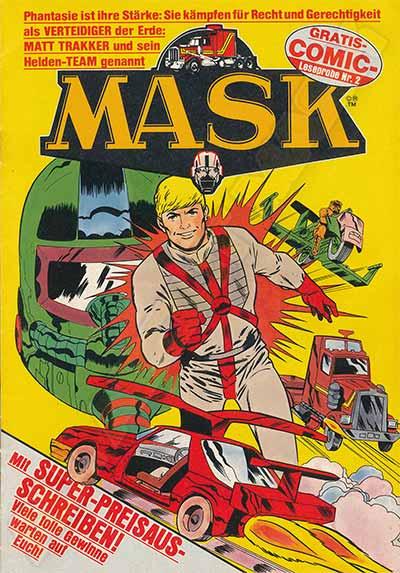 M.A.S.K. M.A.S.K. promotional comic Germany nr. 2 1988