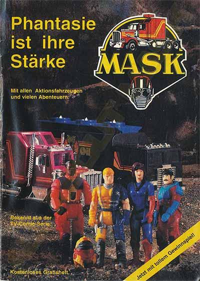M.A.S.K. M.A.S.K. promotional comic Germany nr. 4 1990